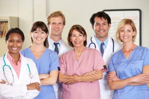 six medical staff